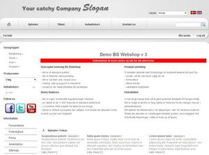 BG Webshop